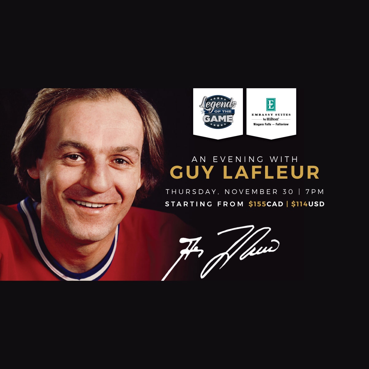 An Evening with Guy Lafleur