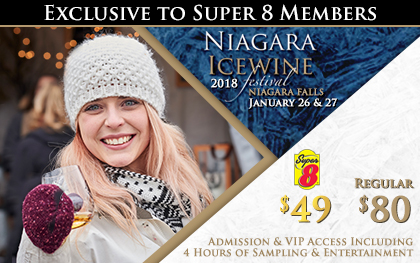 Super 8 Niagara Falls - Fallsview Hotel - Upcoming Events - 2018 Niagara Falls Icewine Festival