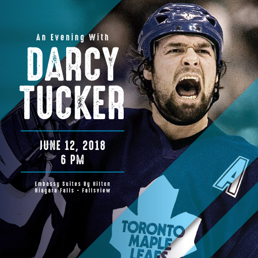 An Evening with Darcy Tucker & Breakfast with Mike Palmateer