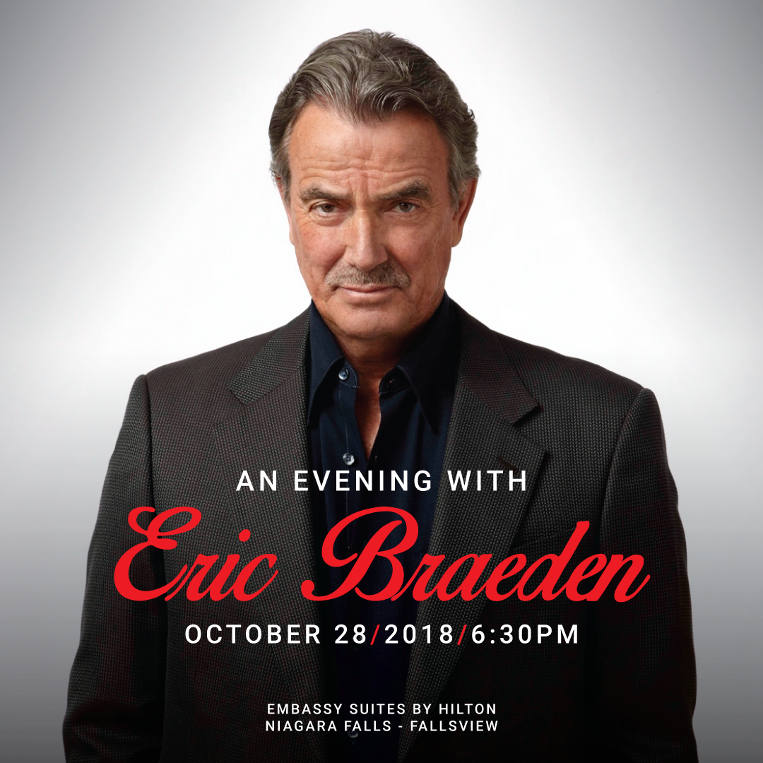 Wyndham Garden Niagara Falls Fallsview - Fallsview Hotel - Upcoming Events - AN EVENING WITH ERIC BRAEDEN
