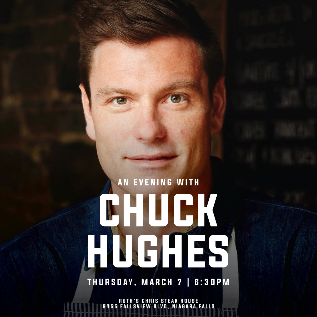 Evening with Chuck Hughes