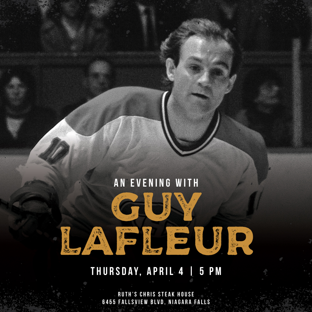Evening with Guy LaFleur Hotel Packages -