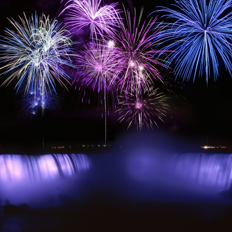 Fireworks over Niagara Falls Hotel Packages - New Year's Eve Niagara Falls