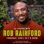 An Evening with Rob Rainford