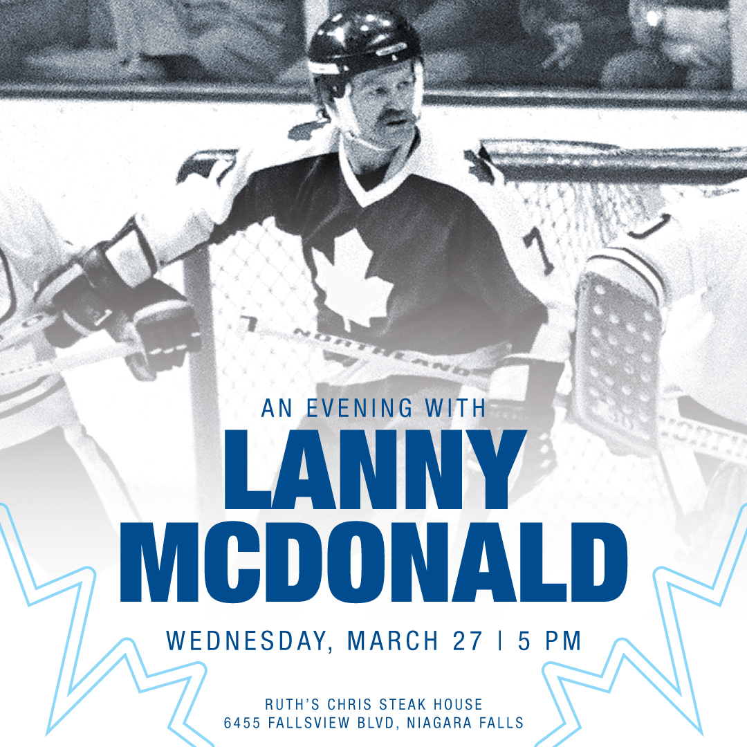 Evening with Lanny McDonald Hotel Packages - fallsinfo