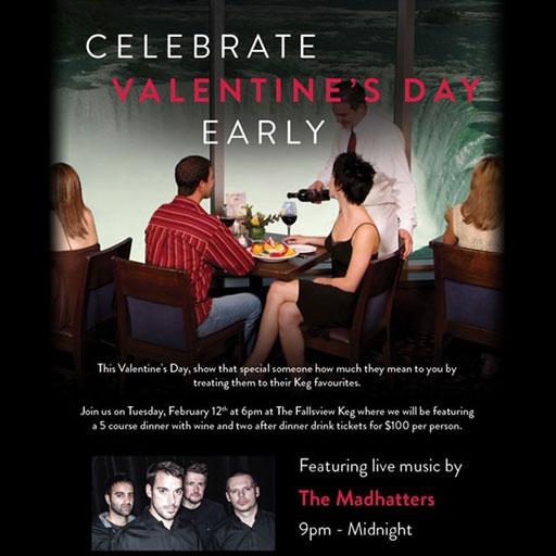 Valentine's Dinner & Show