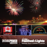 WINTER FESTIVAL OF LIGHTS Hotel Packages - Wyndham Garden Niagara Falls Fallsview