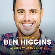 An Evening with Ben Higgins