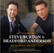 An Evening with Steve Burton & Bradford Anderson