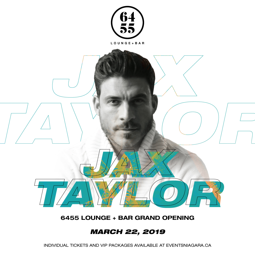 6455 Lounge + Bar Presents Jax Taylor  Hotel Packages - fallsinfo
