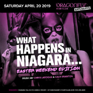 Dragonfly Saturdays ~ What Happens in Niagara...Easter Weekend Edition