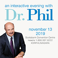 Ramada by Wyndham Niagara Falls Fallsview - Fallsview Hotel - Upcoming Events - An Interactive Evening with Dr Phil