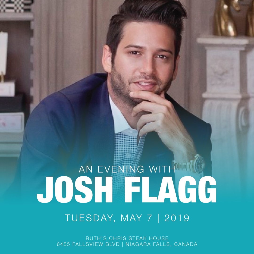 Evening with Josh Flagg Hotel Packages -