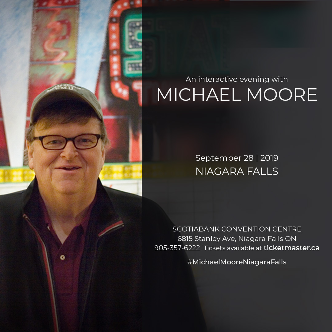 An Interactive Evening with Michael Moore  Hotel Packages - fallsinfo