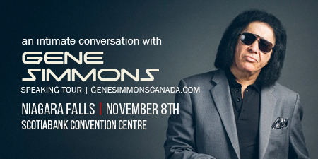 Ramada by Wyndham Niagara Falls Near the Falls - Fallsview Hotel - Upcoming Events - An Intimate Conversation with Gene Simmons