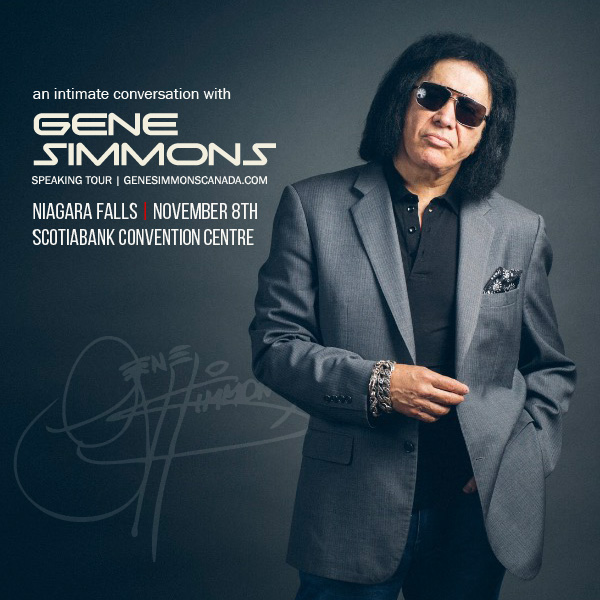 Wyndham Garden Niagara Falls Fallsview - Fallsview Hotel - Upcoming Events - An Intimate Conversation with Gene Simmons
