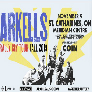 Arkells Rally Cry Tour Fall 2019