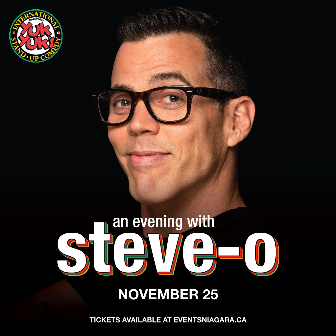 An Evening with Steve-O Hotel Packages - New Year's Eve Niagara Falls
