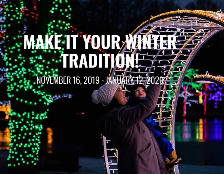 Ontario Power Generation Winter Festival of Lights Hotel Packages -