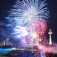 Ontario Power Generation Winter Festival of Lights Fireworks Hotel Packages -