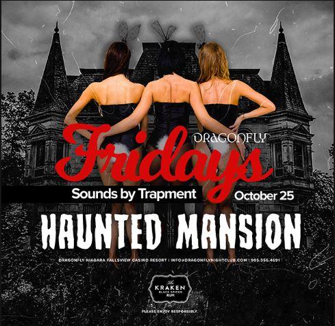 Dragonfly Fridays ~ Haunter Mansion