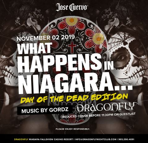 Dragonfly Saturdays ~ What Happens in Niagara... Day of the Dead Edition