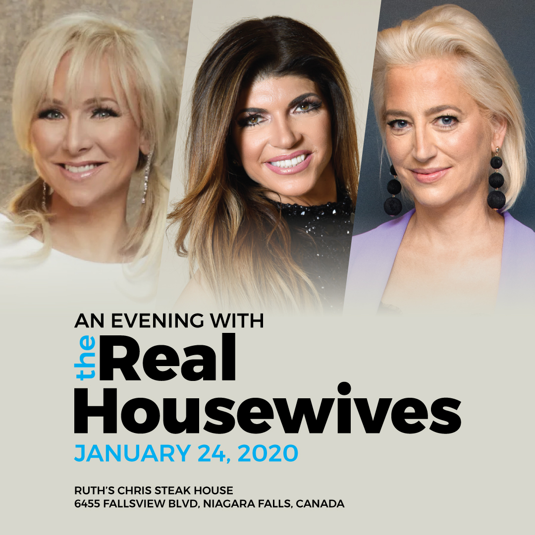 An Evening with the Real Housewives Hotel Packages -