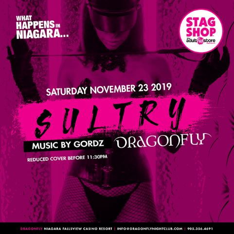 Dragonfly Saturdays ~ What Happens in Niagara... Sultry Hotel Packages -