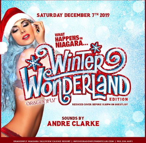 Dragonfly Saturdays ~ What Happens in Niagara...Winter Wonderland Edition Hotel Packages -