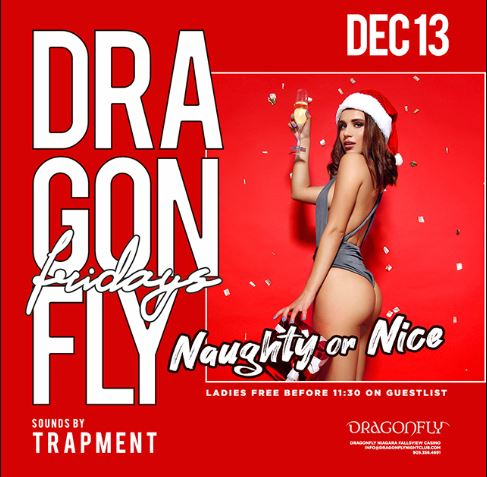 Dragonfly Fridays ~ Naughty or Nice Hotel Packages -