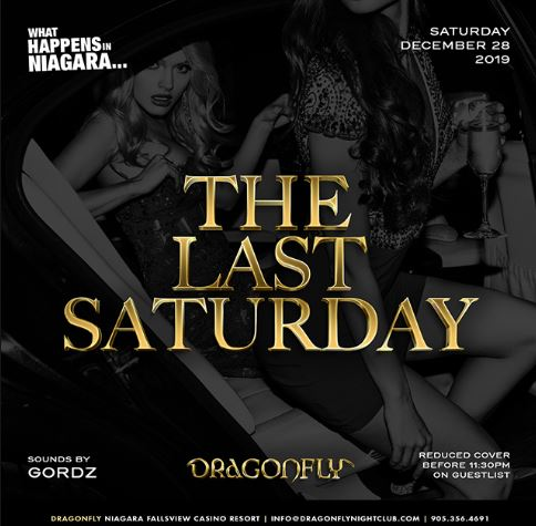 Dragonfly Saturdays ~ What Happens in Niagara... The Last Saturday Hotel Packages -
