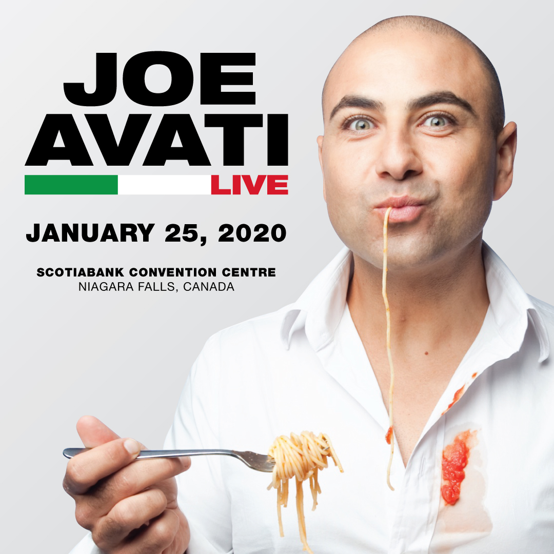 Joe Avati Live Show Hotel Packages -