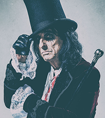 Alice Cooper- Ol' Black Eyes is Back with special guest Lita Ford Hotel Packages - Days Inn Niagara Falls Lundy's Lane