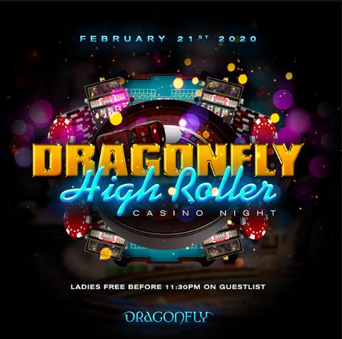 Dragonfly High Roller Casino Night Hotel Packages -