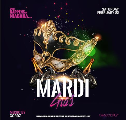 Dragonfly Saturday ~ What Happens in Niagara...Mardi Gras Hotel Packages -