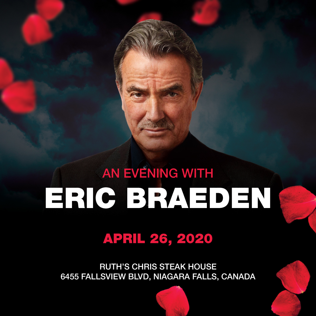 An Evening with Eric Braeden Hotel Packages -
