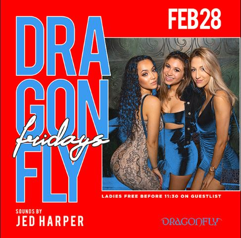 Dragonfly Fridays Hotel Packages -
