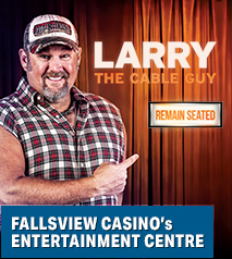 Larry The Cable Guy Remain Seated Tour Hotel Packages - Days Inn Niagara Falls Lundy's Lane