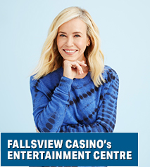 Chelsea Handler - In My Defense… AN EVENING OF STAND UP COMEDY Hotel Packages - Wyndham Garden Niagara Falls Fallsview