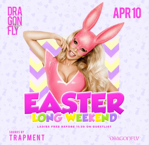 Dragonfly Fridays ~ Easter Long Weekend Hotel Packages -