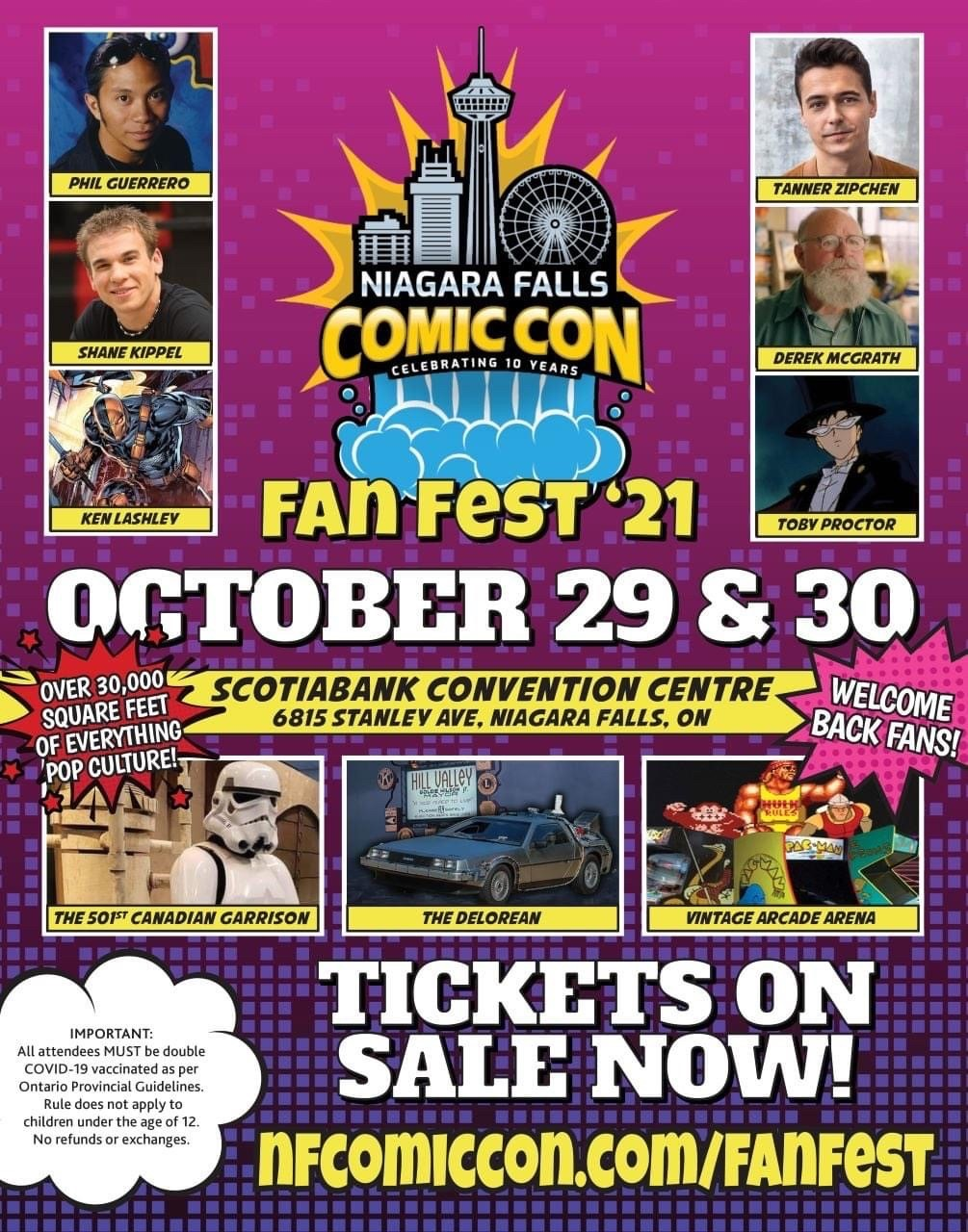 Niagara Falls Comic Con Fan Fest Hotel Packages - Wyndham Garden Niagara Falls Fallsview