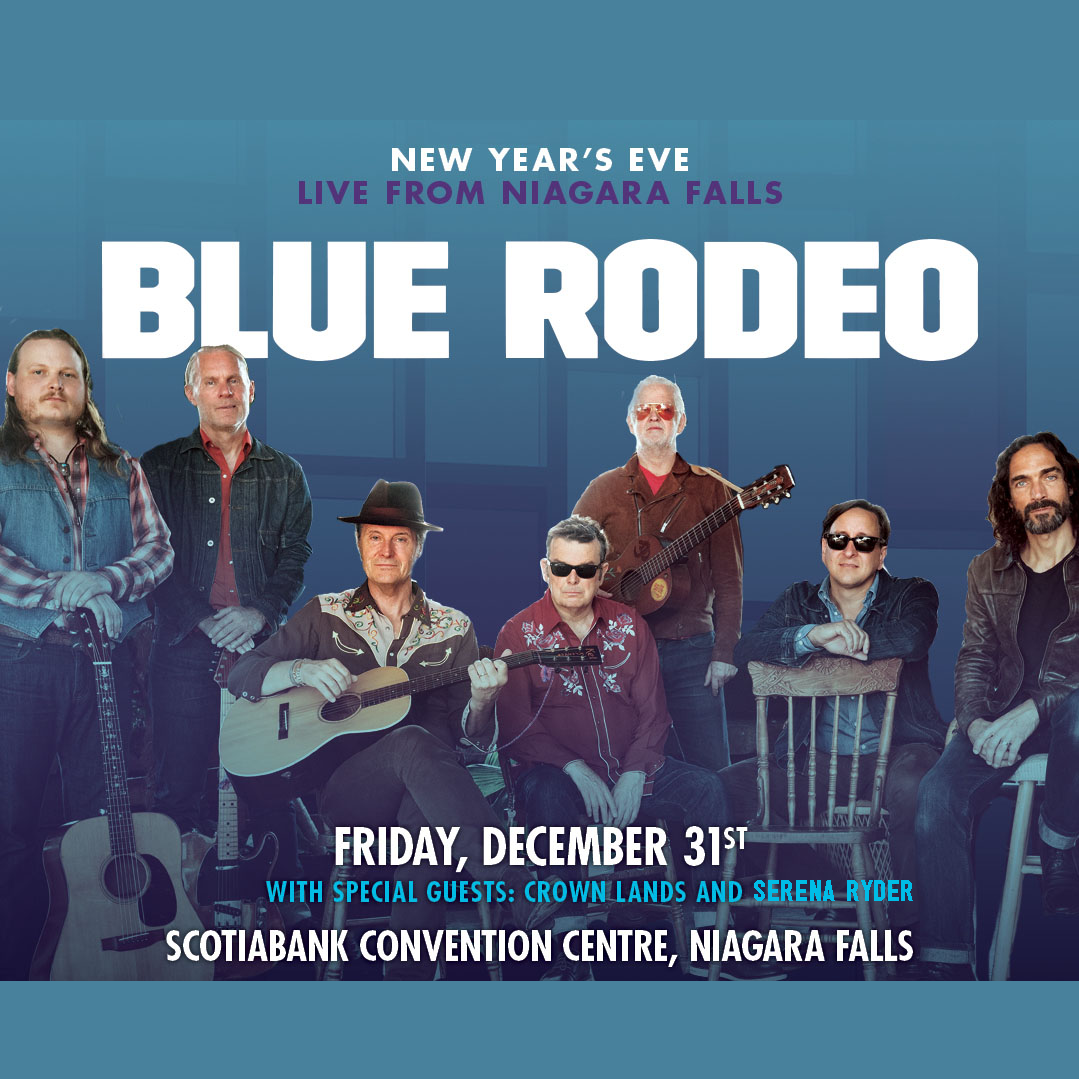 BLUE RODEO - NIAGARA FALLS MUSIC LIVE